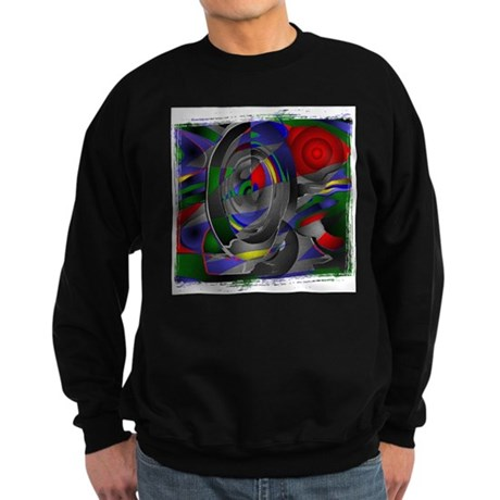 Abstract 002a Sweatshirt (dark)
