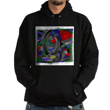 Abstract 002a Hoodie (dark)