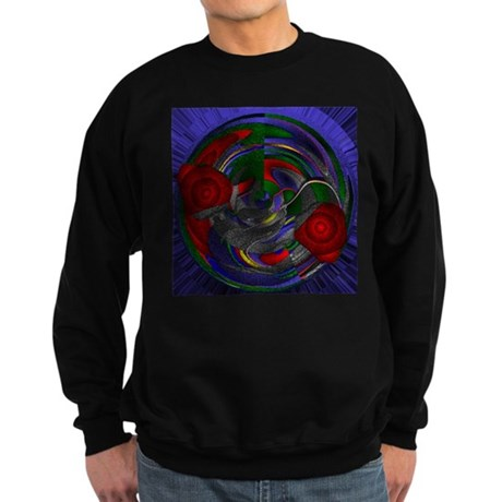 Abstract 005 Sweatshirt (dark)