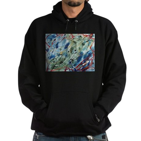 Untitled Abstract Hoodie (dark)
