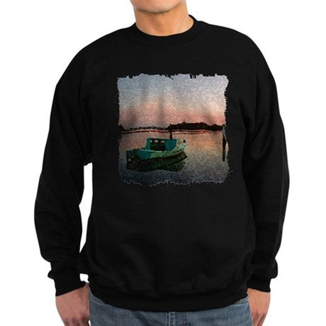 Sunset Boat Sweatshirt (dark)