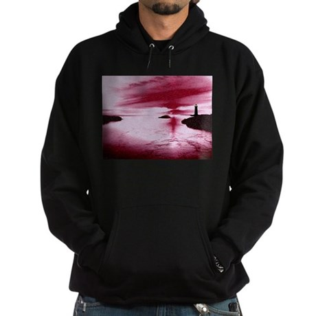 Lighthouse Sunset Hoodie (dark)