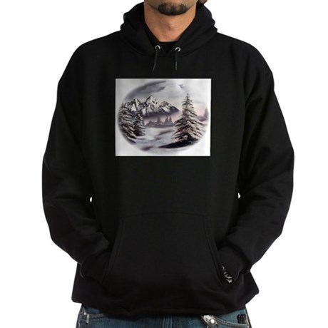 Snow Mountain Hoodie (dark)