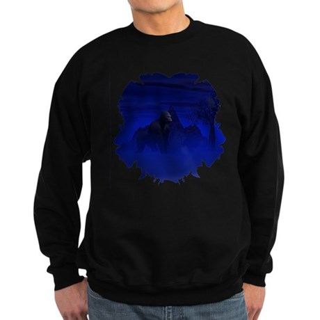 Night Gorilla Sweatshirt (dark)