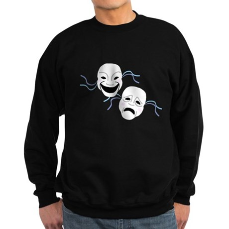 Theater Masks Sweatshirt (dark)