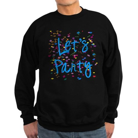 Let's Party Sweatshirt (dark)