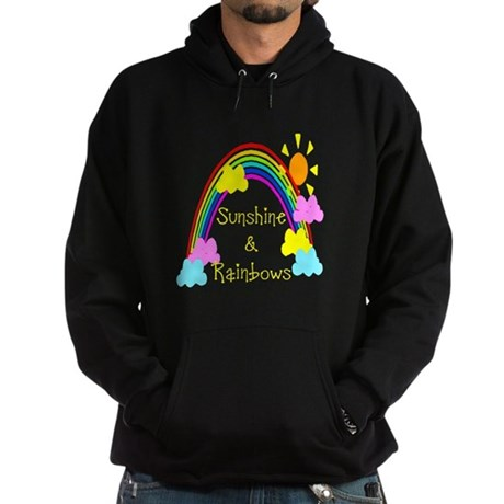 Sunshine Rainbows Hoodie (dark)