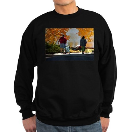 Early Autumn Stroll Sweatshirt (dark)
