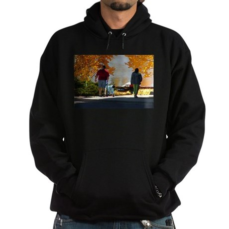 Early Autumn Stroll Hoodie (dark)
