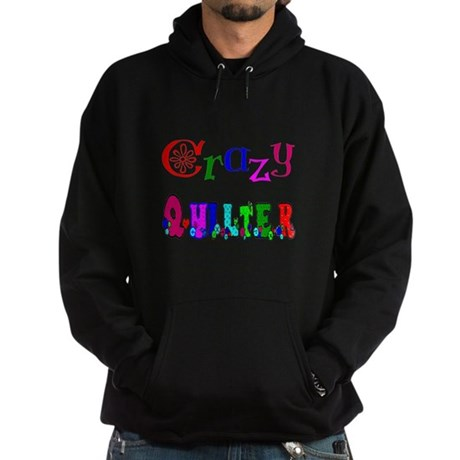 Crazy Quilter Hoodie (dark)