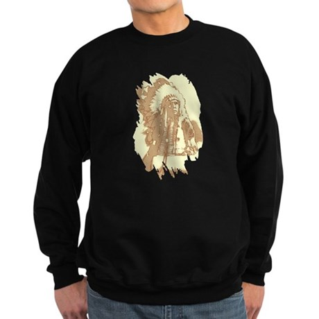Indian Chief Sweatshirt (dark)