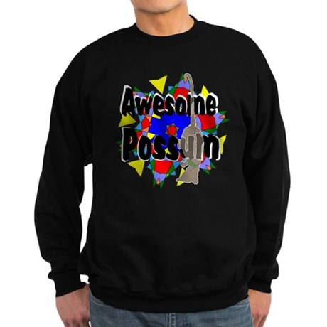 Awesome Possum Kaleidoscope Sweatshirt (dark)