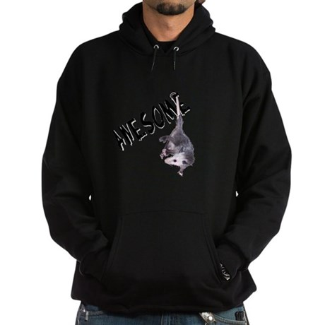 Awesome Possum Hoodie (dark)