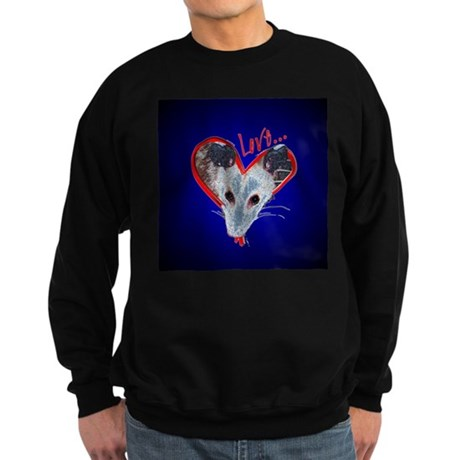 Possum Love Sweatshirt (dark)