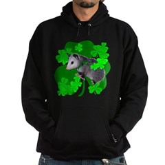 Lucky Irish Possum Hoodie (dark)
