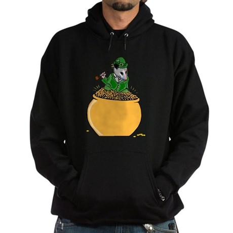 Possum Leprechaun Hoodie (dark)