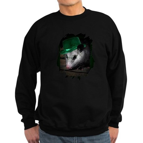 St. Patrick's Day Possum Sweatshirt (dark)