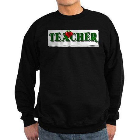 Teacher Apple Sweatshirt (dark)