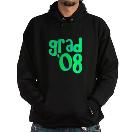 Grad 08 - Lime - Hoodie (dark)