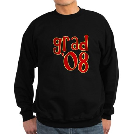Grad 2008 - Red - Sweatshirt (dark)