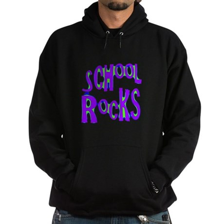 School Rocks - Purple - Hoodie (dark)