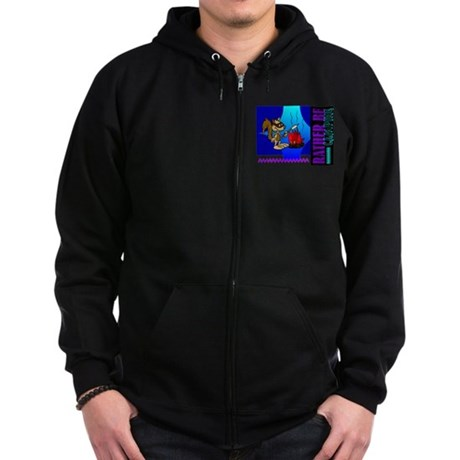 Rather Be Camping Zip Hoodie (dark)