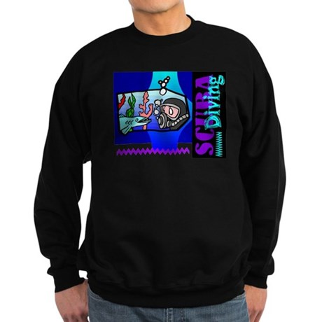 Scuba Diving Sweatshirt (dark)