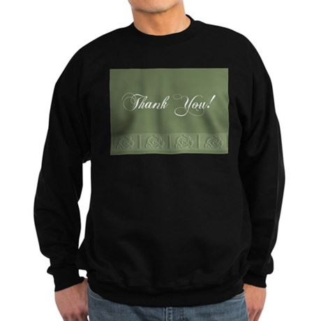 Thank You Roses Sweatshirt (dark)
