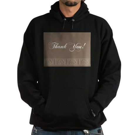 Thank You Roses Hoodie (dark)