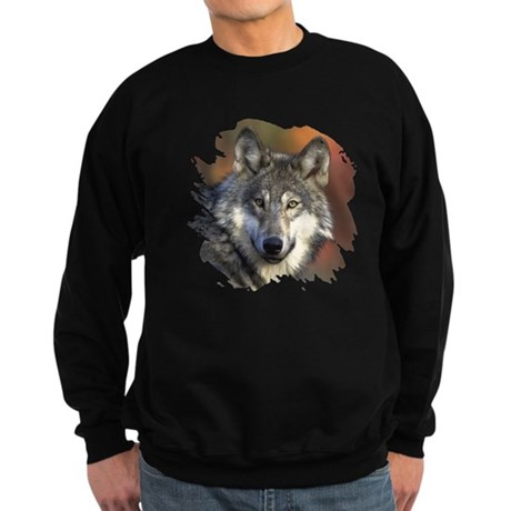 Gray Wolf Sweatshirt (dark)
