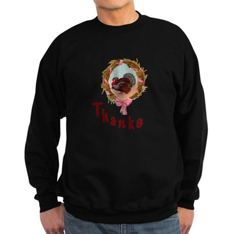 Thanks Turkey Sweatshirt (dark)