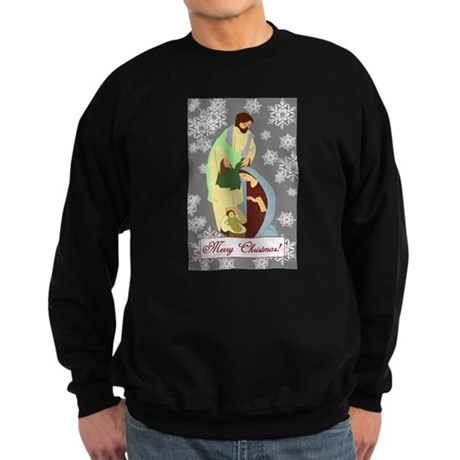 The Nativity Sweatshirt (dark)
