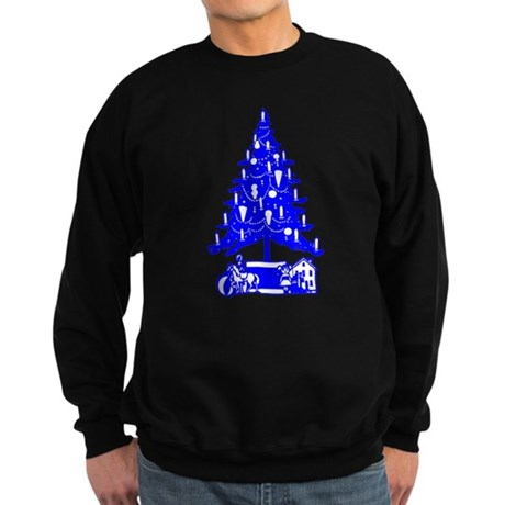 Christmas Tree Sweatshirt (dark)