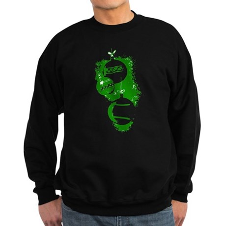 Christmas Ornaments Sweatshirt (dark)