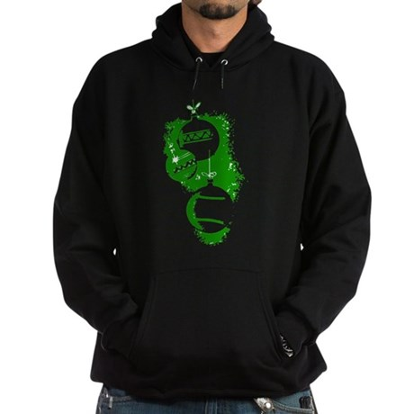 Christmas Ornaments Hoodie (dark)