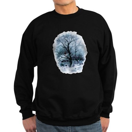 Winter Snowscene Sweatshirt (dark)