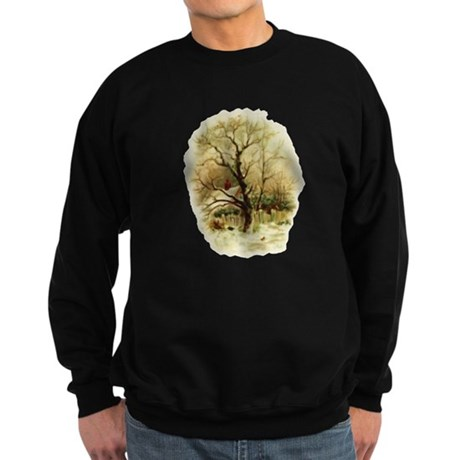 Winter Scene Sweatshirt (dark)