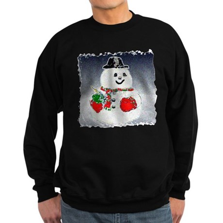 Winter Snowman Sweatshirt (dark)