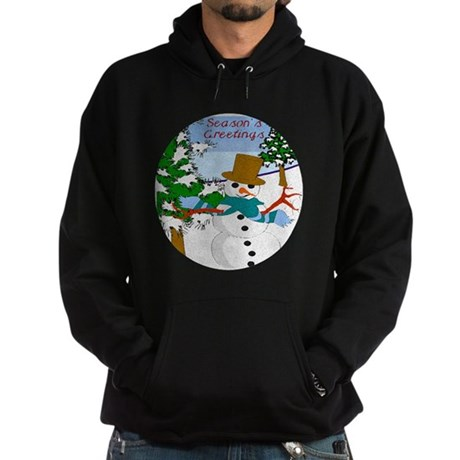 Season's Greetings Hoodie (dark)