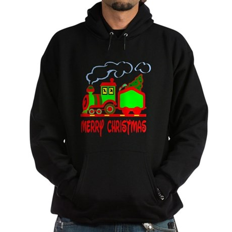 Christmas Train Hoodie (dark)