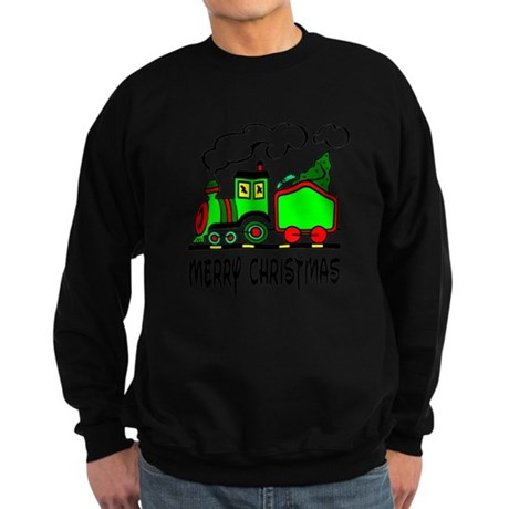 Christmas Train Sweatshirt (dark)