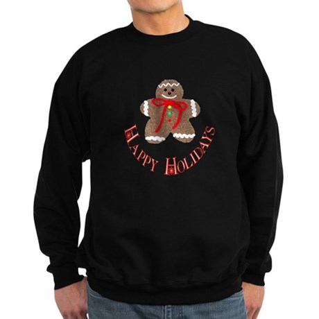 Gingerbread Holidays Sweatshirt (dark)
