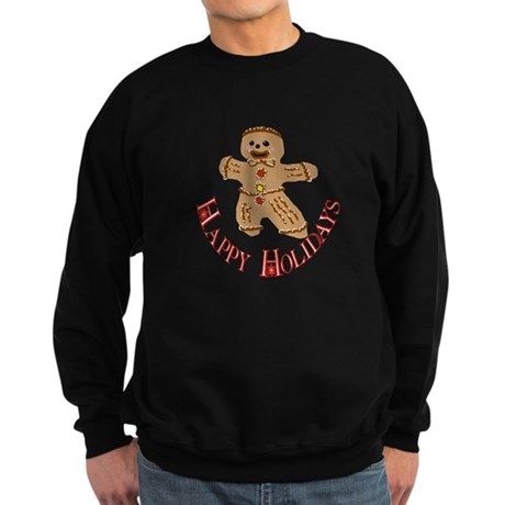 Gingerbread Man Sweatshirt (dark)