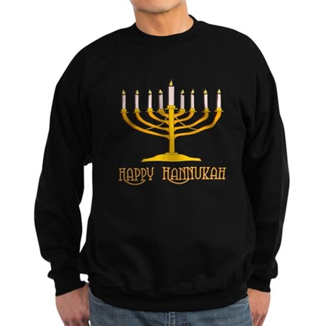 Happy Hanukkah Sweatshirt (dark)