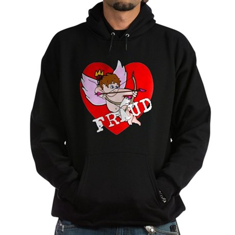 Cupid is a FRAUD! Hoodie (dark)