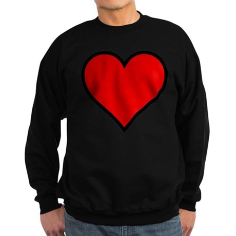 Simple Heart Sweatshirt (dark)