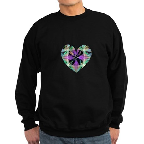Kaleidoscope Heart Sweatshirt (dark)