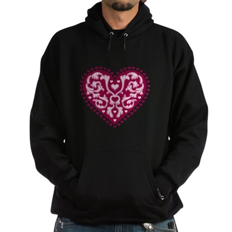 Fancy Heart Hoodie (dark)