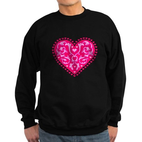 Fancy Heart Sweatshirt (dark)