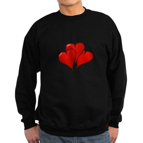 Three Hearts Sweatshirt (dark)